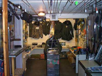 Foxpond Fishery Tackle Shop